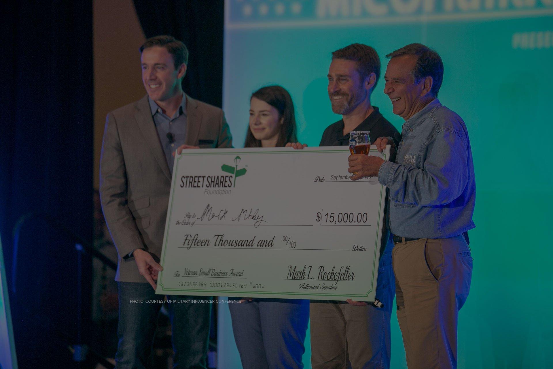 StreetShares Foundation The Veteran Small Business Award