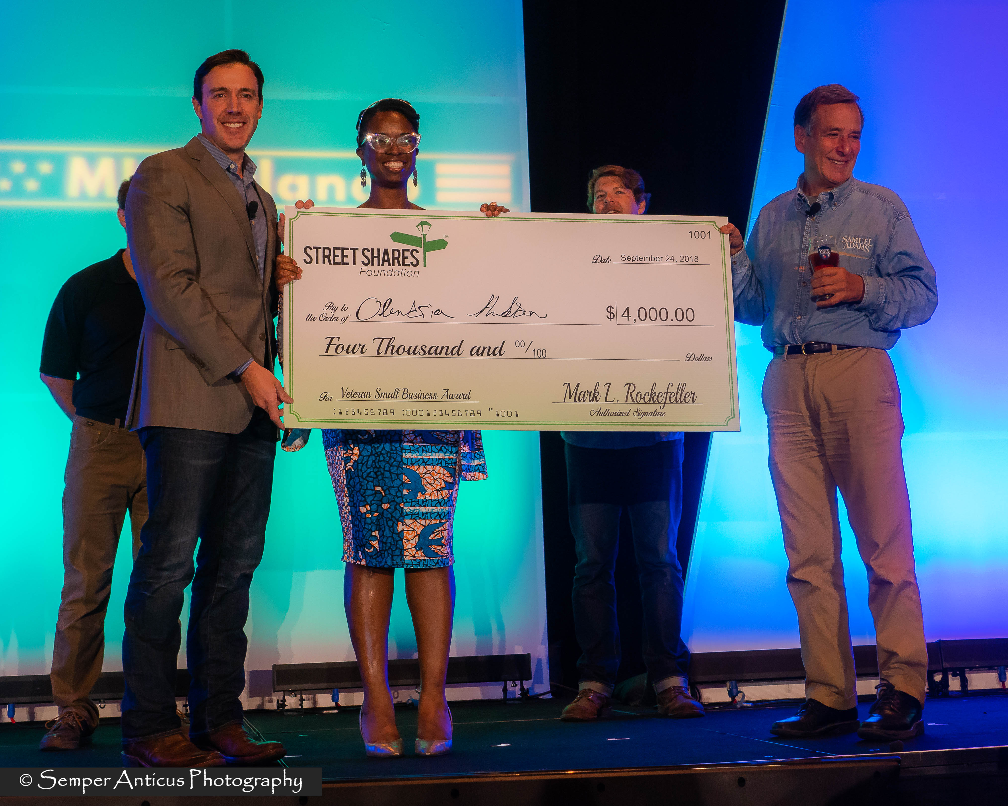 StreetShares Grant Winner Olandria Hudson